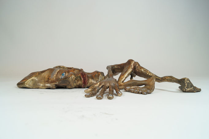 """Theoretiker"" Edition 5+1EA Bronze 32x42x8cm"