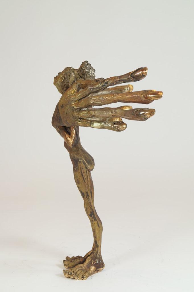 """Fräulein"" Edition 9+2EA Bronze 32x17x12cm"