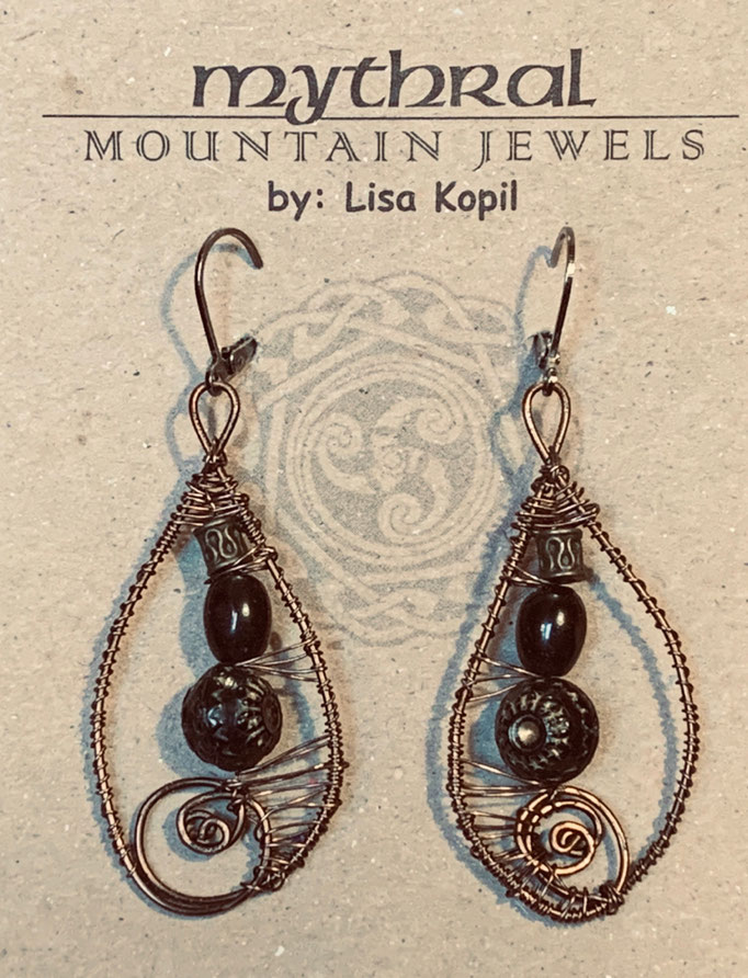 Earrings Gallery 2 Photo 2: Black Onyx $30