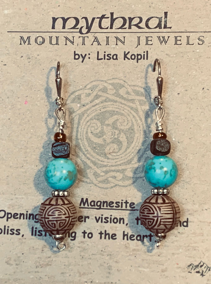 Earrings Gallery 2 Photo 3: Magnisite $25