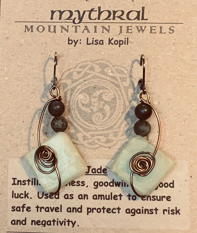 Earrings Gallery 1 Photo 9: Jade $30