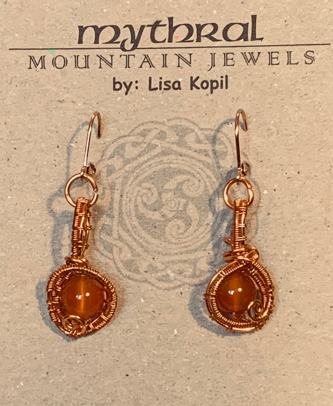 Earrings Gallery 1 Photo 16: Carnelian $30