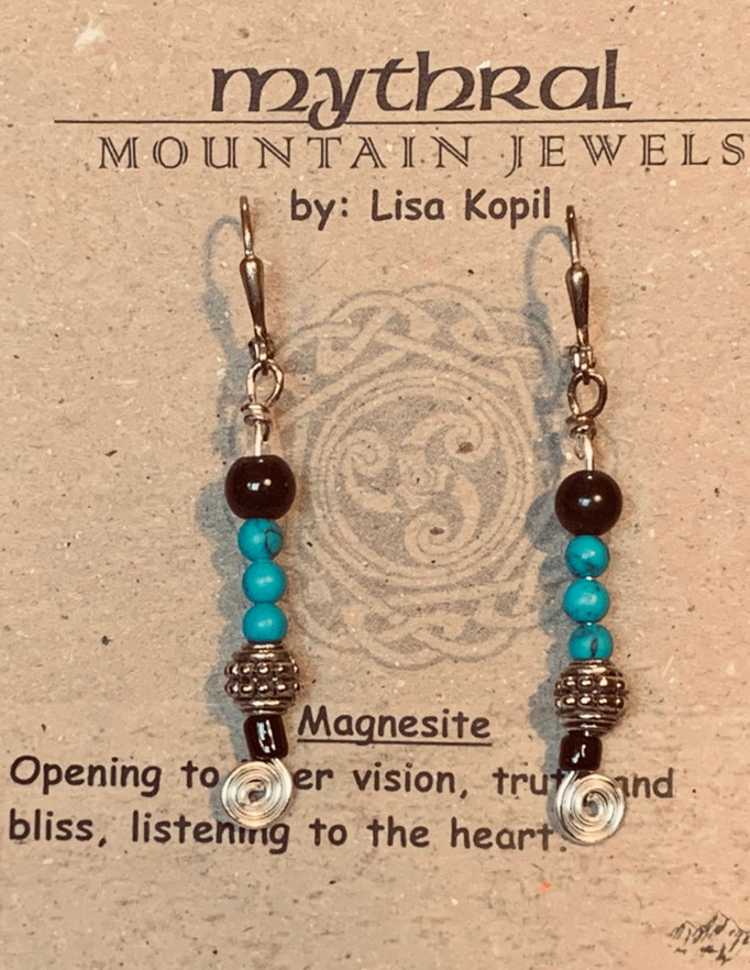 Earrings Gallery 2 Photo 13: Magnisite $25