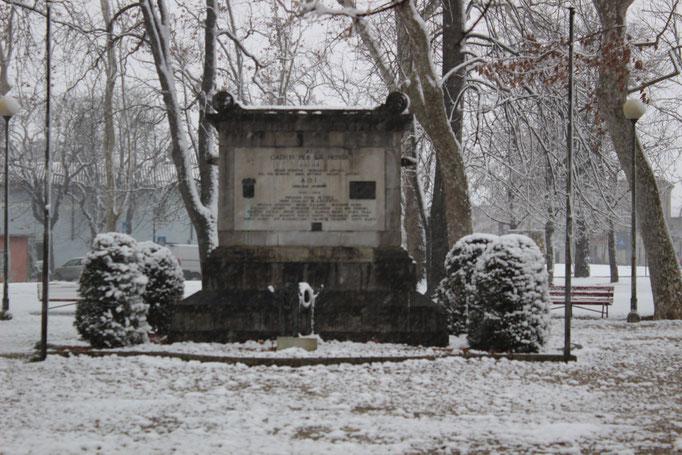 Monumento ai Caduti della Prima Guerra Mondiale, Parco della Rotonda