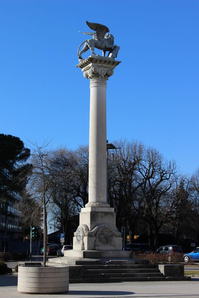 Colonna con il Leone di San Marco - Monumento alla Redenzione, 1924