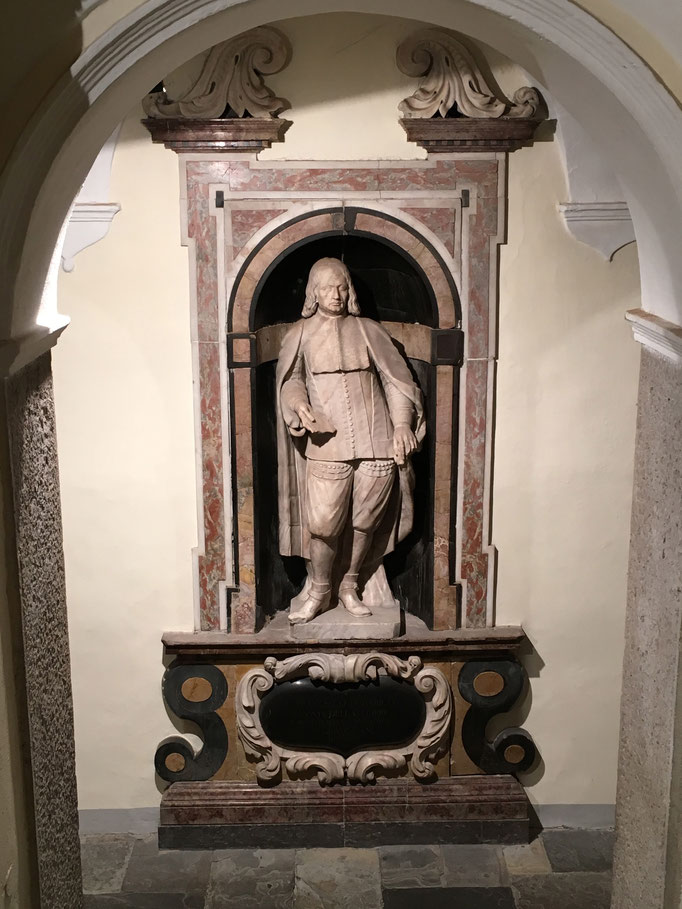 Statua di Francesco Ulderico della Torre, fine sec. XVII