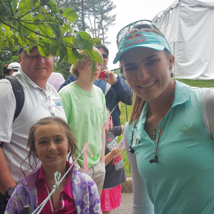 America's #1 Player Lexi Thompson and Lauren at Kingsmill- May 2014
