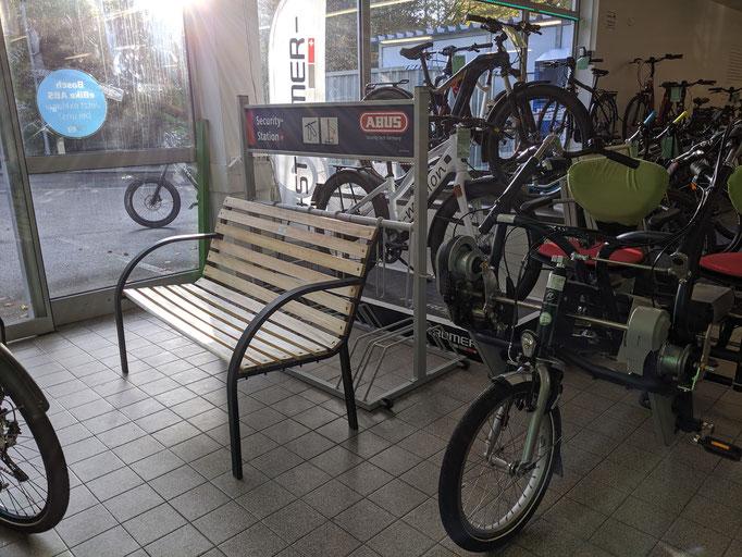 Elektro-Dreirad Probefahrt im Dreirad-Zentrum Stuttgart