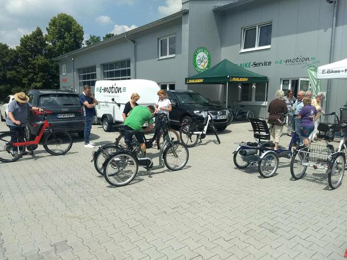 """Erfolgreiche """"Dreirad Mobilitätstage"""" in München"""
