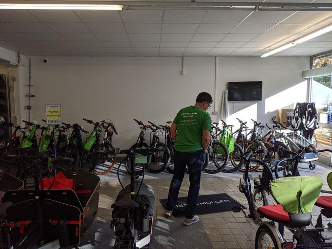 Elektro-Dreirad Beratung im Dreirad-Zentrum Stuttgart
