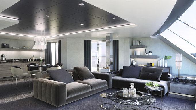 Die neuen Owner-Suiten der MSC Yacht Clubs