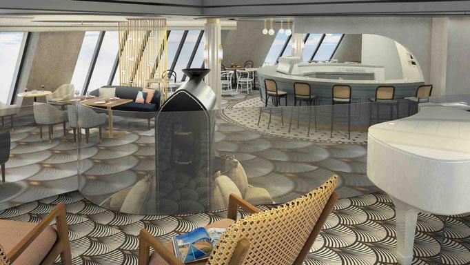 Die neue Café Lounge im Diamanten