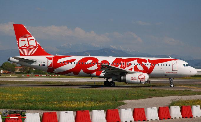 EI-LIN A320-232 4493 Ernest Airlines @ Aeroporto di Verona 04.2019  © Piti Spotter Club Verona