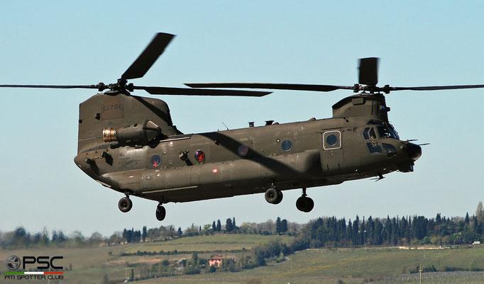 MM81779 E.I.702 ICH-47F M7802 11° Gruppo Sqd @ Aeroporto di Verona 04.2019  © Piti Spotter Club Verona