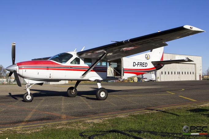 D-FRED. Cessna 208 Caravan - Private @ LIDE