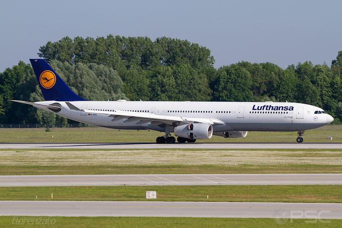 D-AIKK A330-343E 896 Lufthansa - Monaco di Baviera