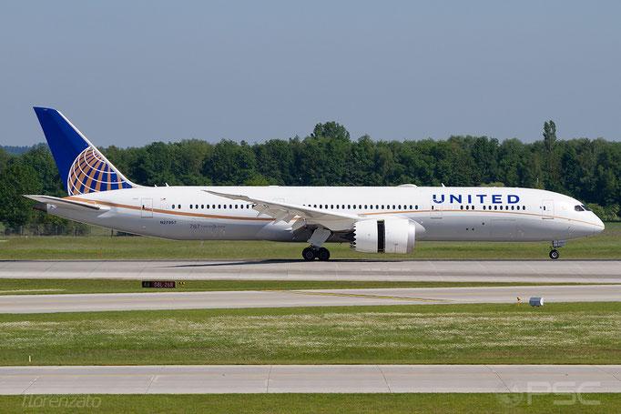 N27957 B787-9 36409/334 United Airlines @ Munich 05.2018 © Piti Spotter Club Verona