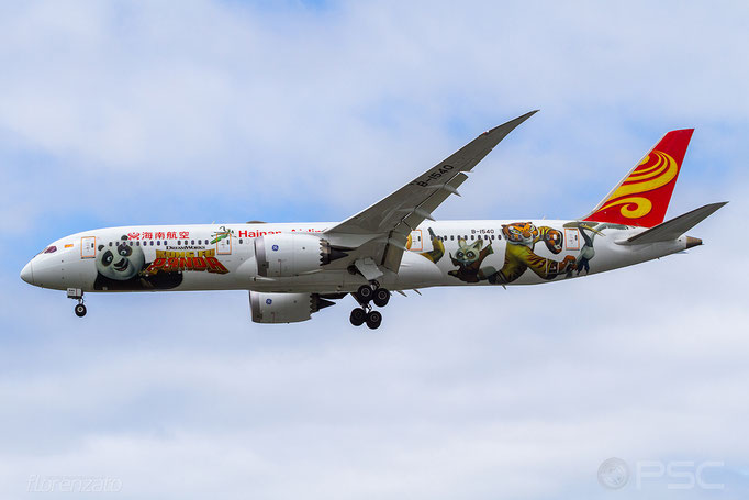 B-1540 B787-9 62715/473 Hainan Airlines - Seattle Tacoma Airport