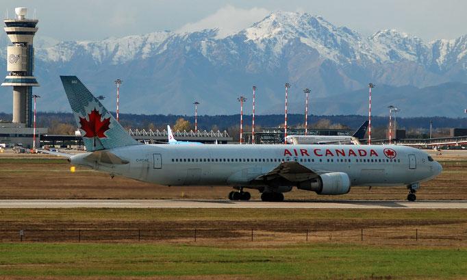 C-FCAE B767-375ER 24083/215 Air Canada @ MXP