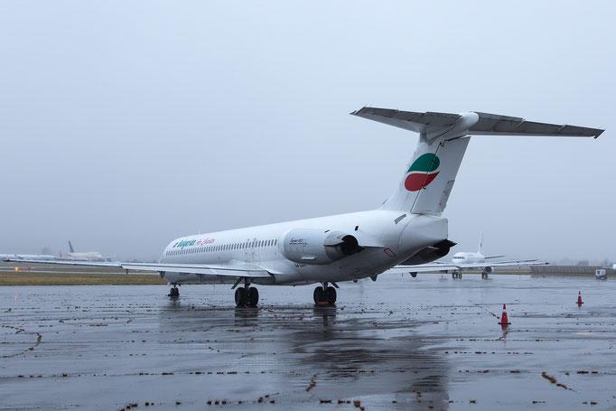 LZ-LDW MD-82 49795/1639 Bulgarian Air Charter - Lourdes