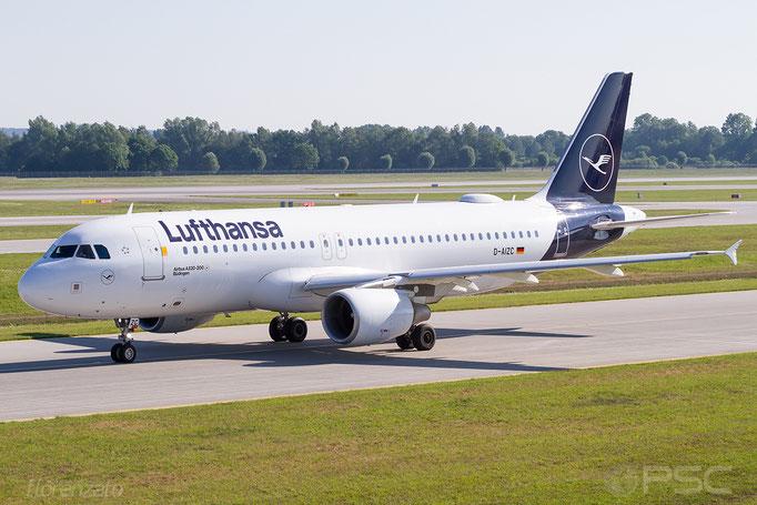 D-AIZC A320-214 4153 Lufthansa - Monaco di Baviera