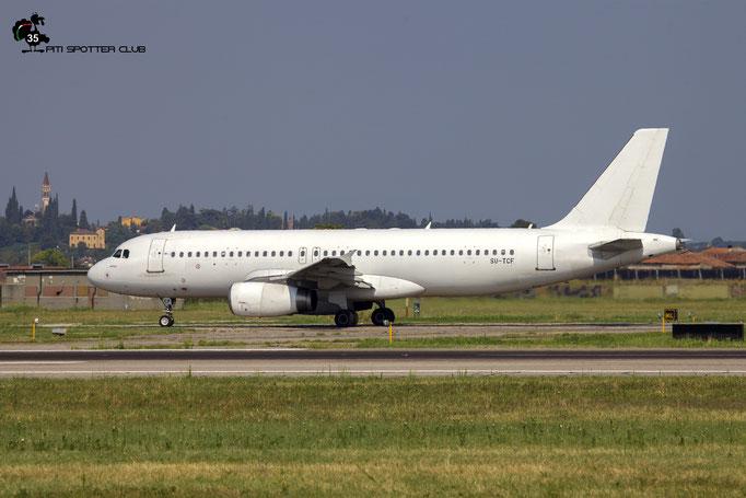 SU-TCF A320-232 1561 Wings of Lebanon  lsf Almasria Universal Airlines @ Aeroporto di Verona 04.08.2018  © Piti Spotter Club Verona