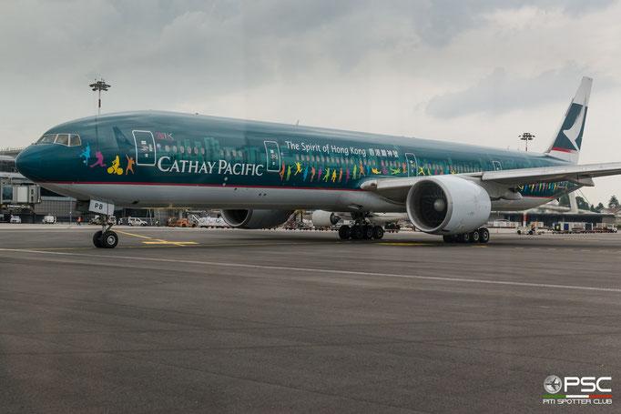 B-KPB B777-367ER 35299/670 Cathay Pacific Airways @ MXP