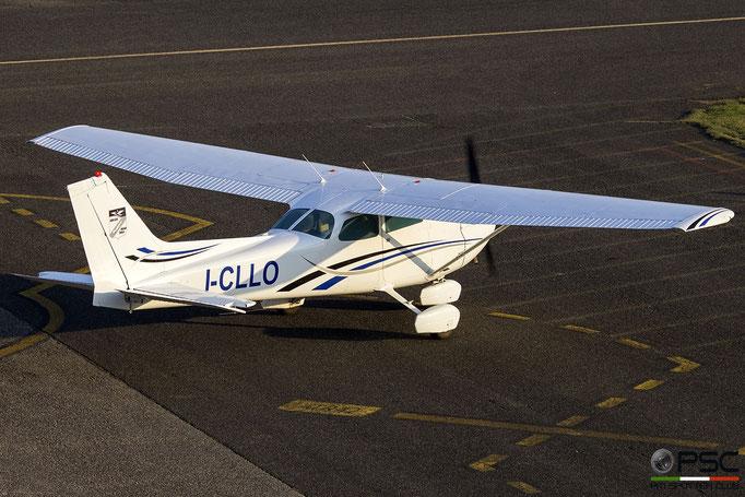 I-CLLO Cessna C172M Skyhawk II (c/n 17266468) @ Reggio Emilia 12.2018 © Piti Spotter Club Verona