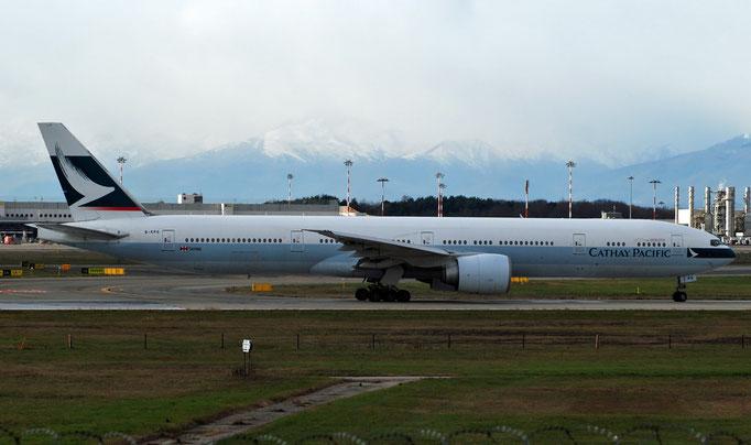 B-KPG B777-367ER 35300/700 Cathay Pacific Airways @ MXP