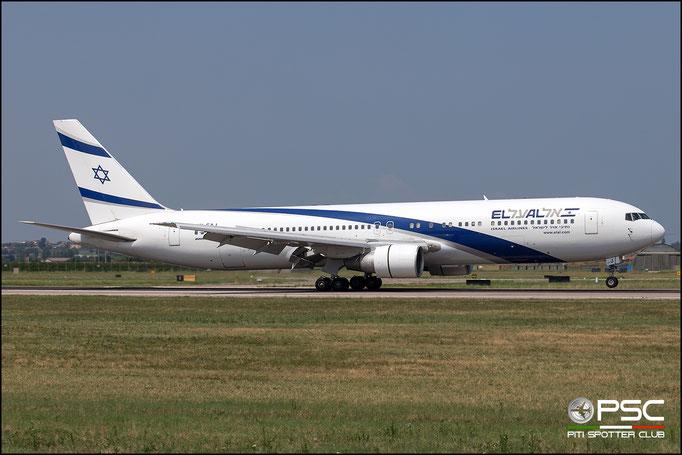 4X-EAJ B767-330ER 25208/381 El Al Israel Airlines @ Aeroporto di Verona 08.2018  © Piti Spotter Club Verona