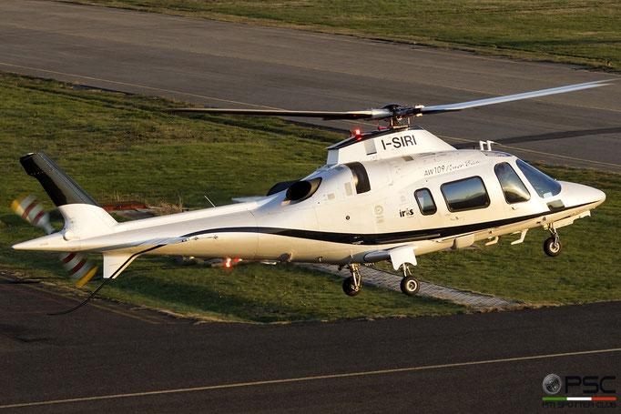 I-SIRI  AgustaWestland AW109E Power Elite ( c/n 11725 ) - mfg: 2008 @ Reggio Emilia 12.2018 © Piti Spotter Club Verona