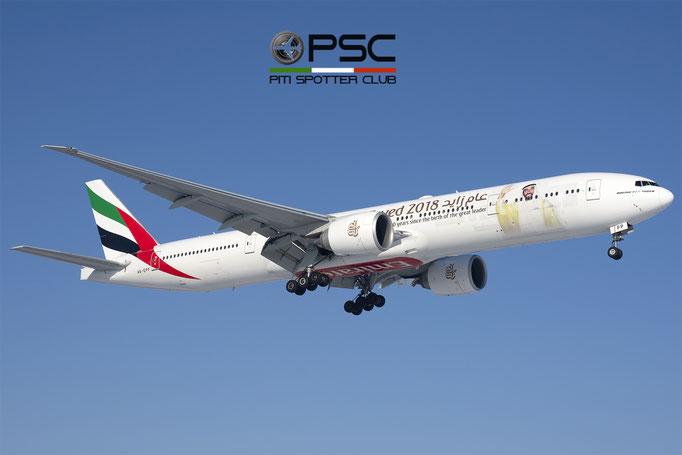 A6-EPP B777-31HER 42335/1418 Emirates @ BLQ