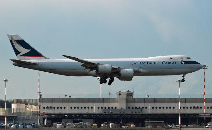 B-LJI B747-867F 39247/1460 Cathay Pacific Airways @ MXP