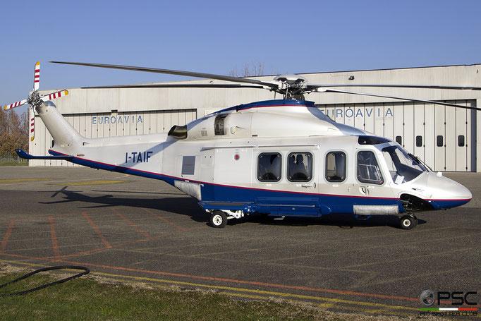 I-TAIF  AgustaWestland AW139 ( c/n 31086 ) - mfg: 2007  @ Reggio Emilia 12.2018 © Piti Spotter Club Verona