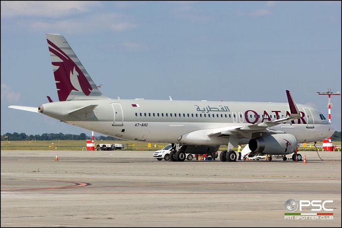 A7-AHU A320-232 5127 Qatar Airways @ PRG