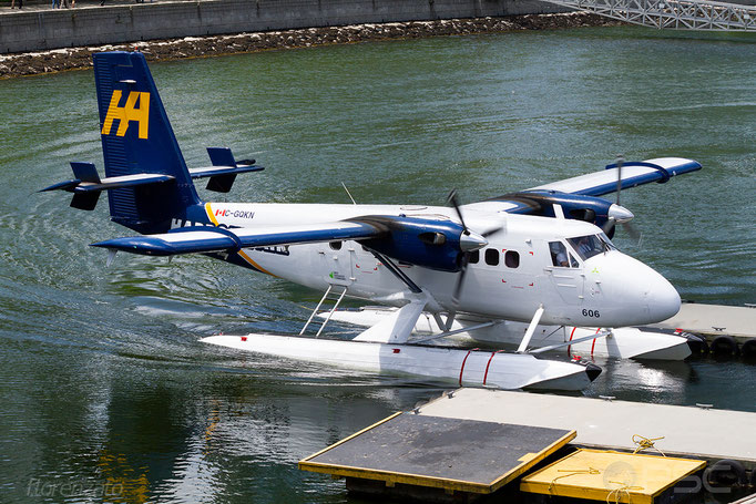 C-GQKN - De Havilland Canada DHC-6-100 Twin Otter - Vancouver Harbour Flight Center