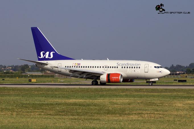LN-RPG B737-683 28310/255 SAS Scandinavian Airlines - Scandinavian Airlines System @ Aeroporto di Verona 04.08.2018  © Piti Spotter Club Verona