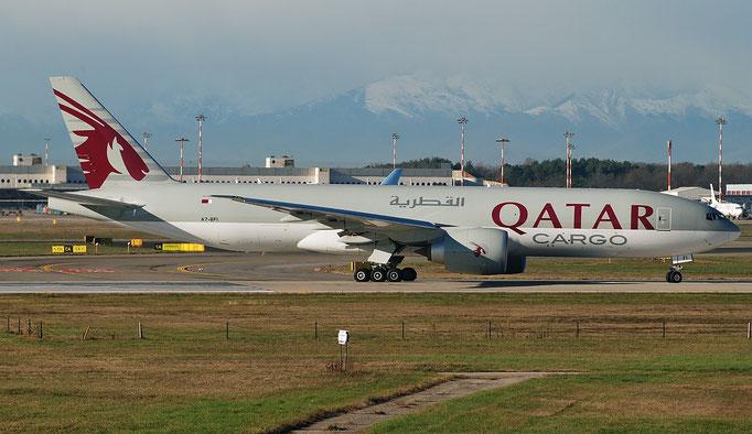 A7-BFI B777-FDZ 62083/1392 Qatar Airways @ MXP