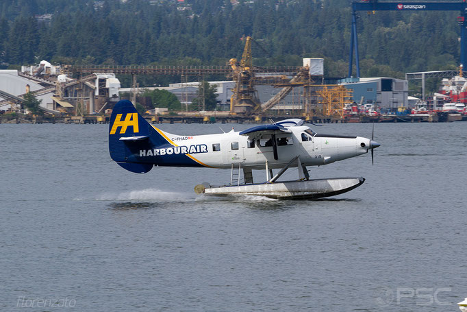 C-FHAD Harbour Air De Havilland Canada DHC-3 Turbine Otter - Vancouver Harbour Flight Center