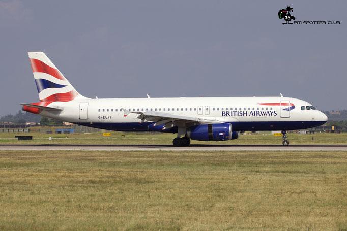 G-EUYI A320-232 4306 British Airways @ Aeroporto di Verona 11.08.2018  © Piti Spotter Club Verona