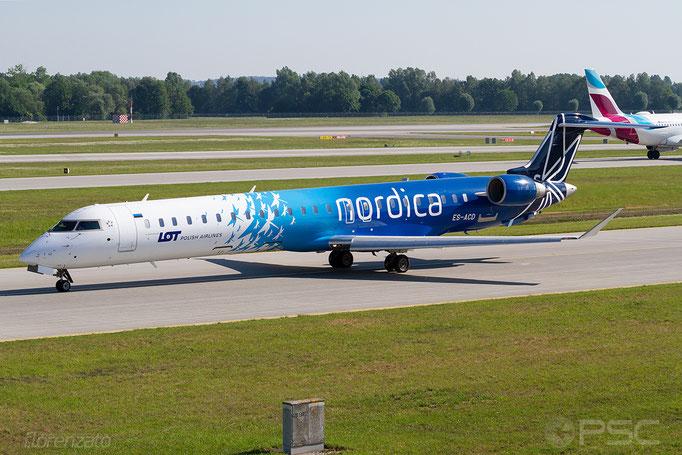 ES-ACD CRJ900ER 15276 Nordica - Monaco di Baviera