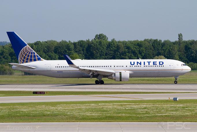 N656UA B767-322ER 25394/472 United Airlines @ Munich 05.2018 © Piti Spotter Club Verona