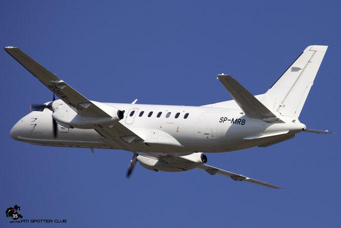SP-MRB Saab 340A/QC 340A-100 SkyTaxi @ Aeroporto di Verona 04.08.2018  © Piti Spotter Club Verona