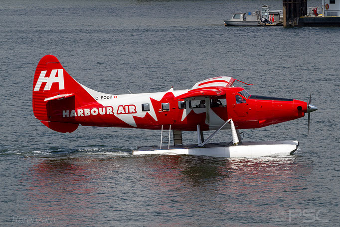 C-FODH (Harbour Air Seaplanes) DHC-3 Otter - Vancouver Harbour Flight Center