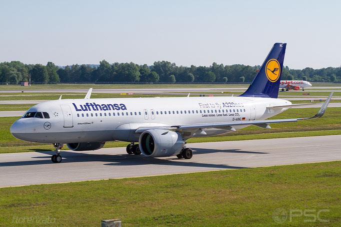 D-AINC A320-271N 6920 Lufthansa - Monaco di Baviera