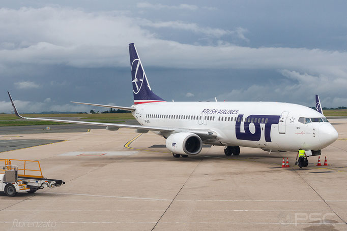 SP-LWD B737-89P 32802/1725 LOT Polish Airlines - Polskie Linie Lotnicze @ Paris CDG  05.2018 © Piti Spotter Club Verona