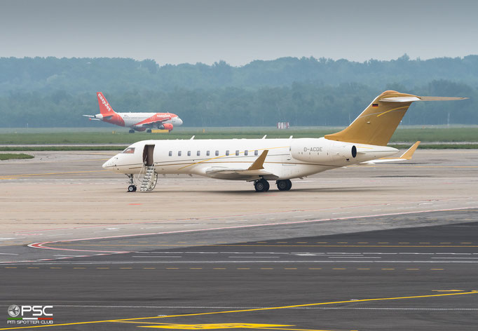 D-ACDE Global 5000 9405 DC Aviation @ MXP