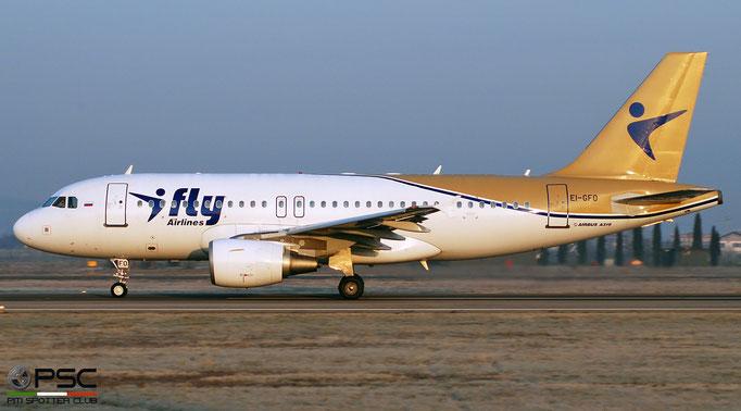 EI-GFO Airbus A319-100   I-Fly @ Aeroporto di Verona 04.2019  © Piti Spotter Club Verona