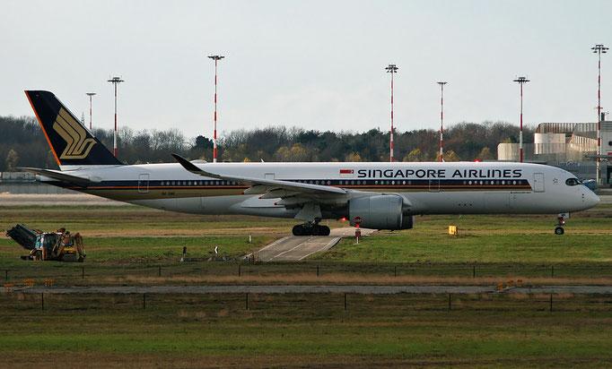 9V-SMK A350-941 84 Singapore Airlines  @ MXP