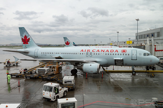 C-FTJO A320-211 183 Air Canada - Montreal Trudeau